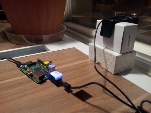 Raspberry Pi + Webcam setup